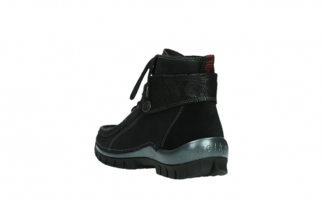 wolky lace up boots 04725 jump winter 14000 black palmmetal suede_17