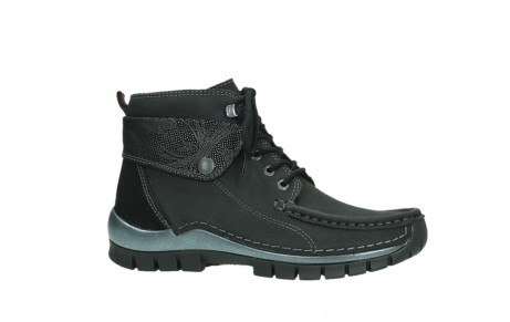 wolky lace up boots 04725 jump winter 14000 black palmmetal suede_2