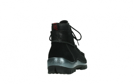 wolky lace up boots 04725 jump winter 14000 black palmmetal suede_20