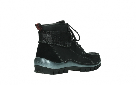 wolky lace up boots 04725 jump winter 14000 black palmmetal suede_22