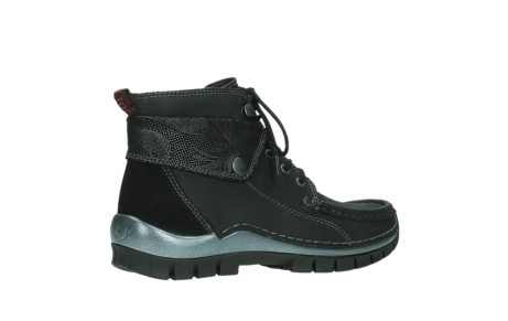 wolky lace up boots 04725 jump winter 14000 black palmmetal suede_23