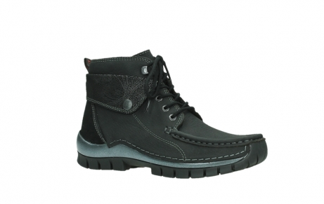 wolky lace up boots 04725 jump winter 14000 black palmmetal suede_3
