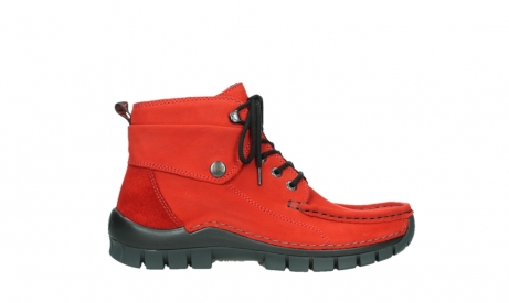wolky lace up boots 04725 jump winter 16505 dark red nubuck_1