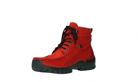 wolky lace up boots 04725 jump winter 16505 dark red nubuck_10