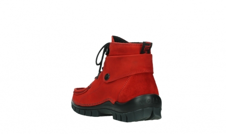 wolky lace up boots 04725 jump winter 16505 dark red nubuck_17