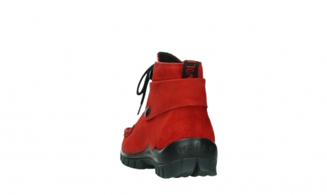 wolky lace up boots 04725 jump winter 16505 dark red nubuck_18