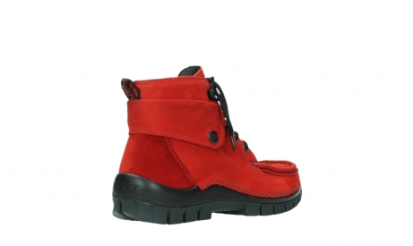 wolky lace up boots 04725 jump winter 16505 dark red nubuck_22
