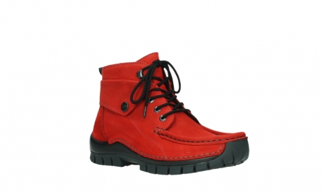 wolky lace up boots 04725 jump winter 16505 dark red nubuck_4