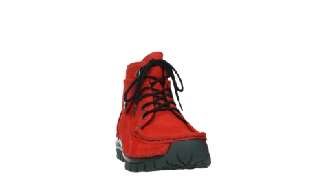 wolky lace up boots 04725 jump winter 16505 dark red nubuck_6
