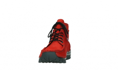 wolky lace up boots 04725 jump winter 16505 dark red nubuck_8