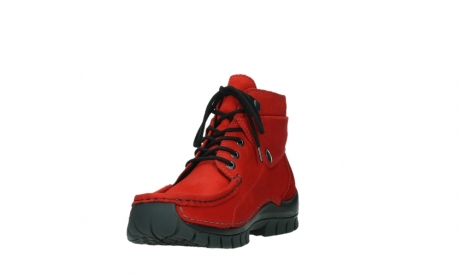 wolky lace up boots 04725 jump winter 16505 dark red nubuck_9