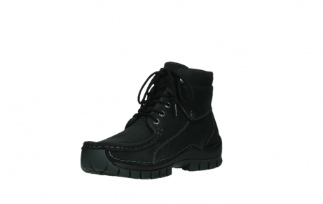 wolky lace up boots 04725 jump 50000 black oiled nubuck_10