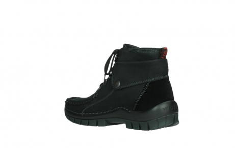wolky lace up boots 04725 jump 50000 black oiled nubuck_16