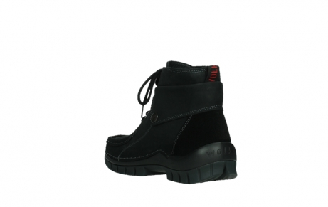 wolky lace up boots 04725 jump 50000 black oiled nubuck_17