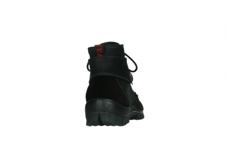wolky lace up boots 04725 jump 50000 black oiled nubuck_20