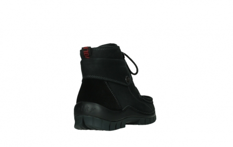 wolky lace up boots 04725 jump 50000 black oiled nubuck_21