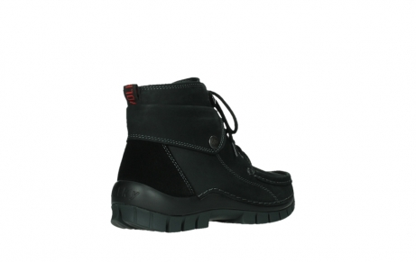 wolky lace up boots 04725 jump 50000 black oiled nubuck_22