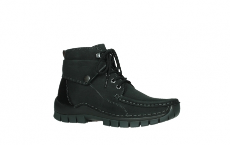 wolky lace up boots 04725 jump 50000 black oiled nubuck_3