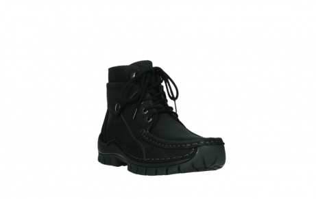 wolky lace up boots 04725 jump 50000 black oiled nubuck_5