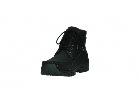 wolky lace up boots 04725 jump 50000 black oiled nubuck_9