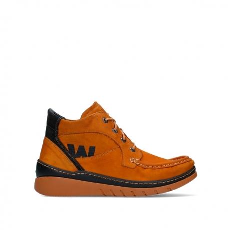 wolky lace up boots 04850 zoom 11925 dark ocher nubuck