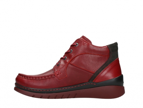wolky lace up boots 04850 zoom 24505 dark red leather_13