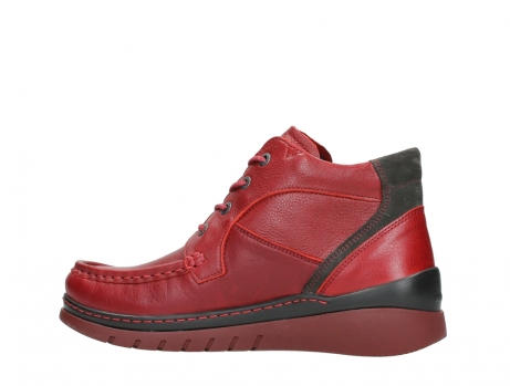 wolky lace up boots 04850 zoom 24505 dark red leather_14