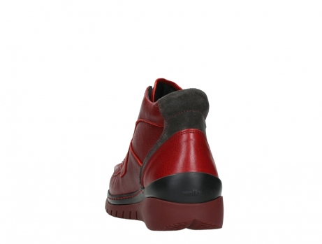 wolky lace up boots 04850 zoom 24505 dark red leather_18