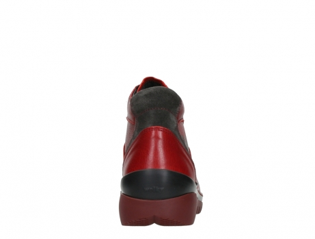 wolky lace up boots 04850 zoom 24505 dark red leather_19