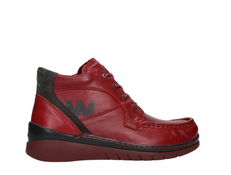 wolky lace up boots 04850 zoom 24505 dark red leather_24