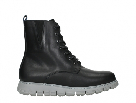 wolky lace up boots 05027 starlight 30000 black leather_1