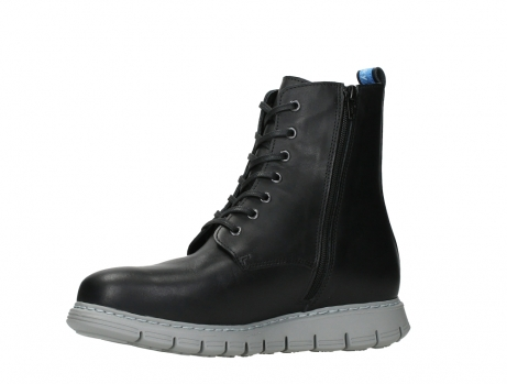 wolky lace up boots 05027 starlight 30000 black leather_11