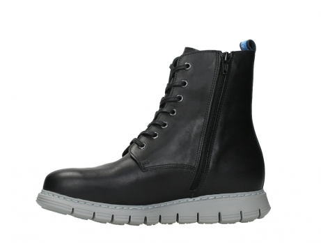 wolky lace up boots 05027 starlight 30000 black leather_12
