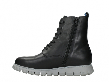 wolky lace up boots 05027 starlight 30000 black leather_13