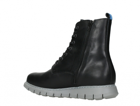 wolky lace up boots 05027 starlight 30000 black leather_15