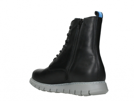 wolky lace up boots 05027 starlight 30000 black leather_16