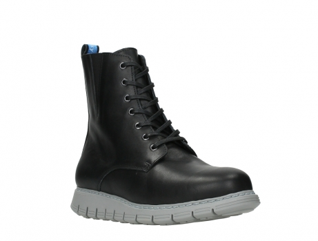 wolky lace up boots 05027 starlight 30000 black leather_4
