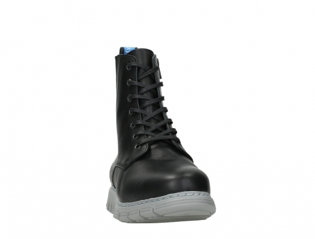 wolky lace up boots 05027 starlight 30000 black leather_6