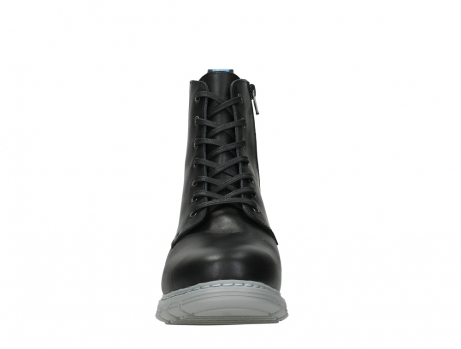 wolky lace up boots 05027 starlight 30000 black leather_7