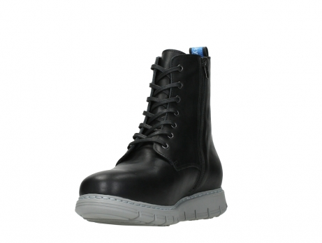 wolky lace up boots 05027 starlight 30000 black leather_9