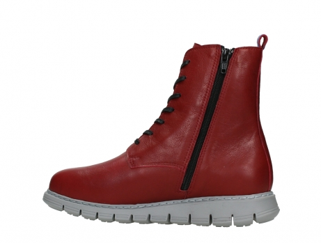 wolky lace up boots 05027 starlight 30500 red leather_14