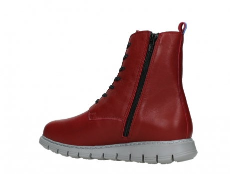 wolky lace up boots 05027 starlight 30500 red leather_15