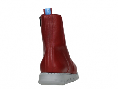 wolky lace up boots 05027 starlight 30500 red leather_20
