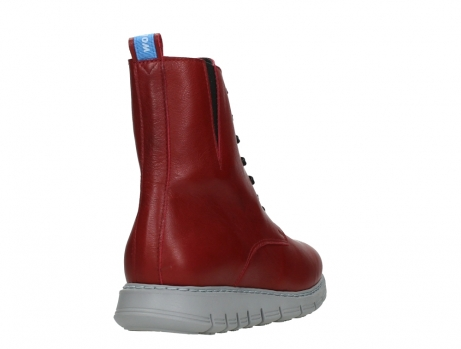 wolky lace up boots 05027 starlight 30500 red leather_21