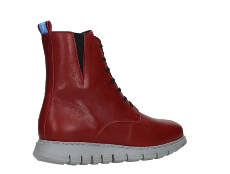 wolky lace up boots 05027 starlight 30500 red leather_23
