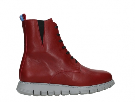 wolky lace up boots 05027 starlight 30500 red leather_24