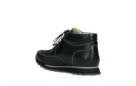 wolky lace up boots 05802 e boot 20009 black stretch leather_16