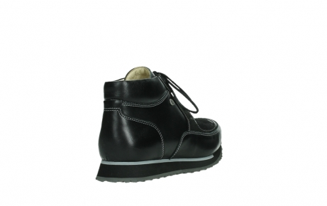 wolky lace up boots 05802 e boot 20009 black stretch leather_21