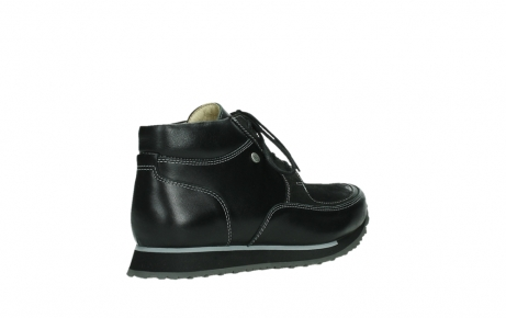 wolky lace up boots 05802 e boot 20009 black stretch leather_22