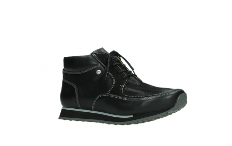 wolky lace up boots 05802 e boot 20009 black stretch leather_3